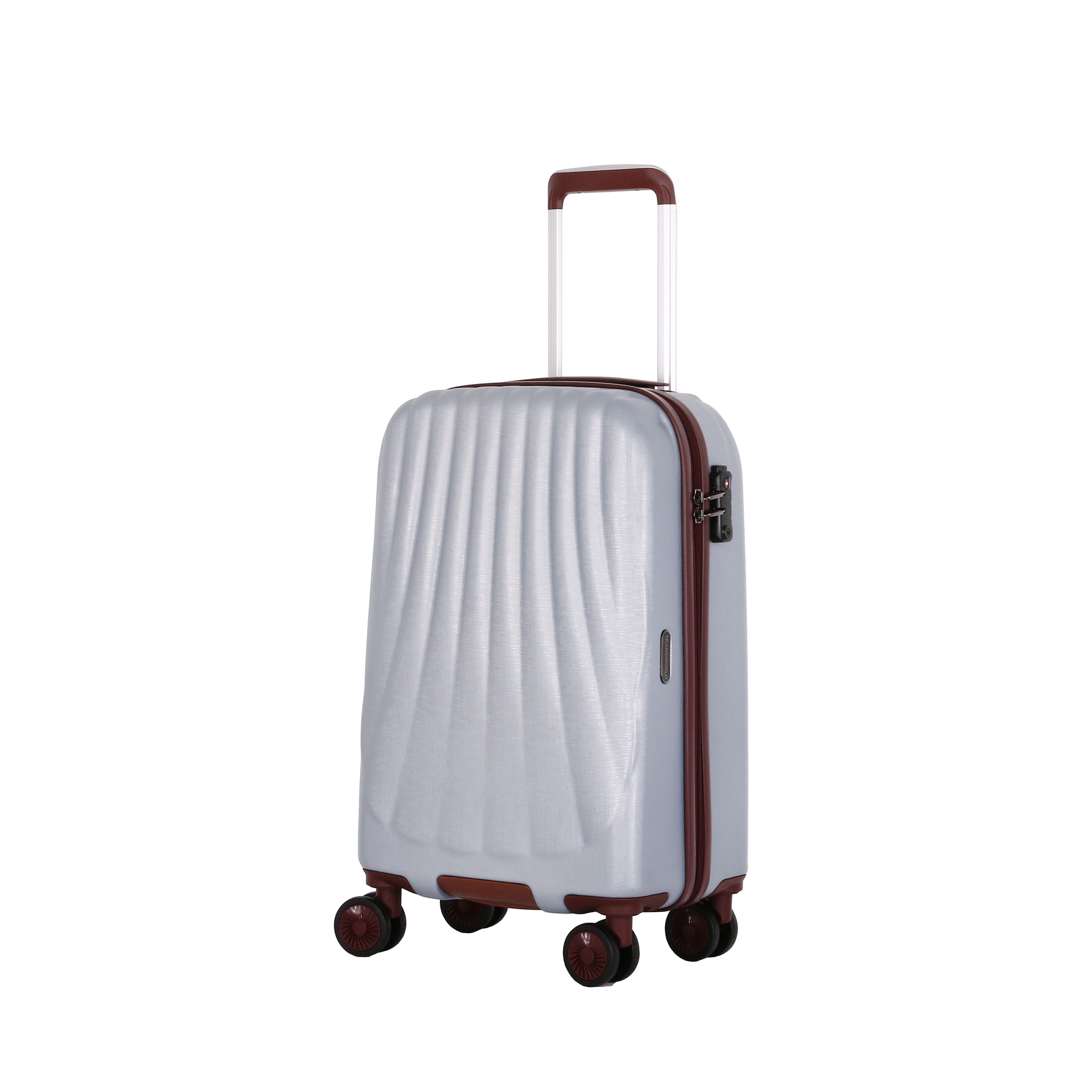 2020 High Quality ABS Trolley Luggage Bag Hard Shell Valise Travel Bag Luggage Set Wholesale
