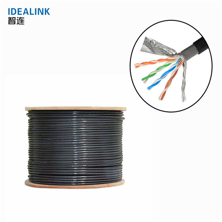 1000ft 23/24AWG cat5e cat6 cat7 cca copper ethernet cable 305m outdoor utp ftp sftp lan cable