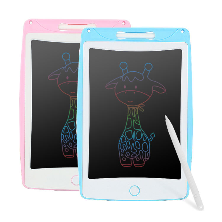 Kids Portable 8.5 inch Colour Screen LCD Writing Tablet Drawing Board Digital Graffiti Handwriting Memo Pad Electronic eWriter