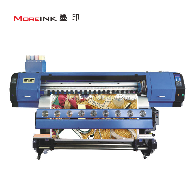 ENJET Allwin Printer 3.2m Dx5 blanket curtain sublimation printer