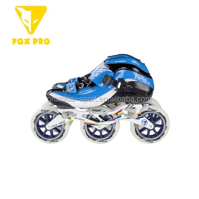 Fox Professional Inline Speed Skates Special Frame Orbit Wheel 110ミリメートルPUホイール