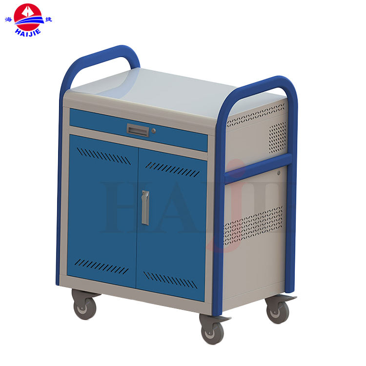 Attractive Design Educational Equipment Tablet Laptop Cart Charging Cabinet For Tablets