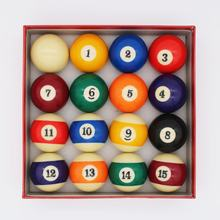 Factory Stock price Colorful box 57.2MM Billiard Ball set 16x Pool ball 2-1/4inch