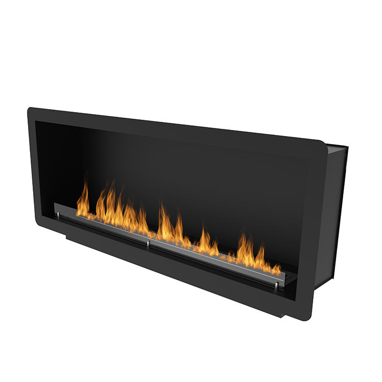 Modern Style 2100ミリメートルBuilt-In Electric Motor Bio Fuel 3D Single Face Gas Fireplace
