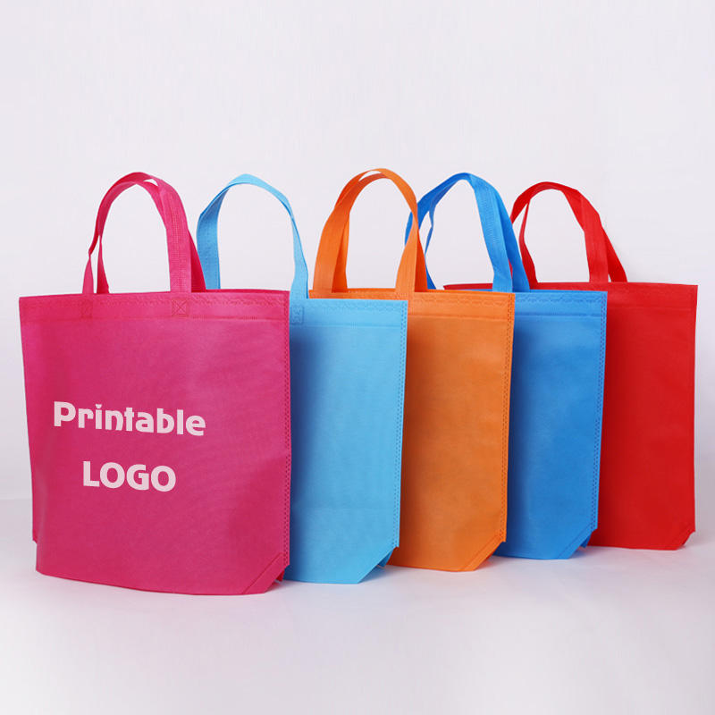 Factory Price High Quality Promotional PP Reusable Eco-friendly Advertising Tote Non Woven Shopping Bag