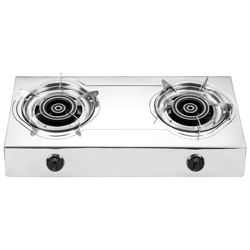 China popular cooking appliances gas stove stainless steel countertop high pressure
