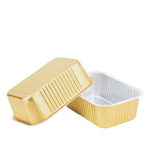 1035ml aluminum pans wholesale work home packing products Aluminum pans with lids foil aluminum packaging