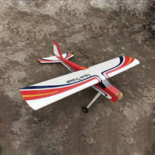 "balsa wood model airplane Falcon Trainer electric 73.2"" rc Falcon Trainer"