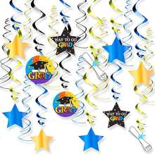 EasternHope 2020 Graduation Decorations Hanging Swirls Kit