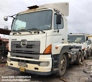 cheap used hino 700 trailer head truck in good condition