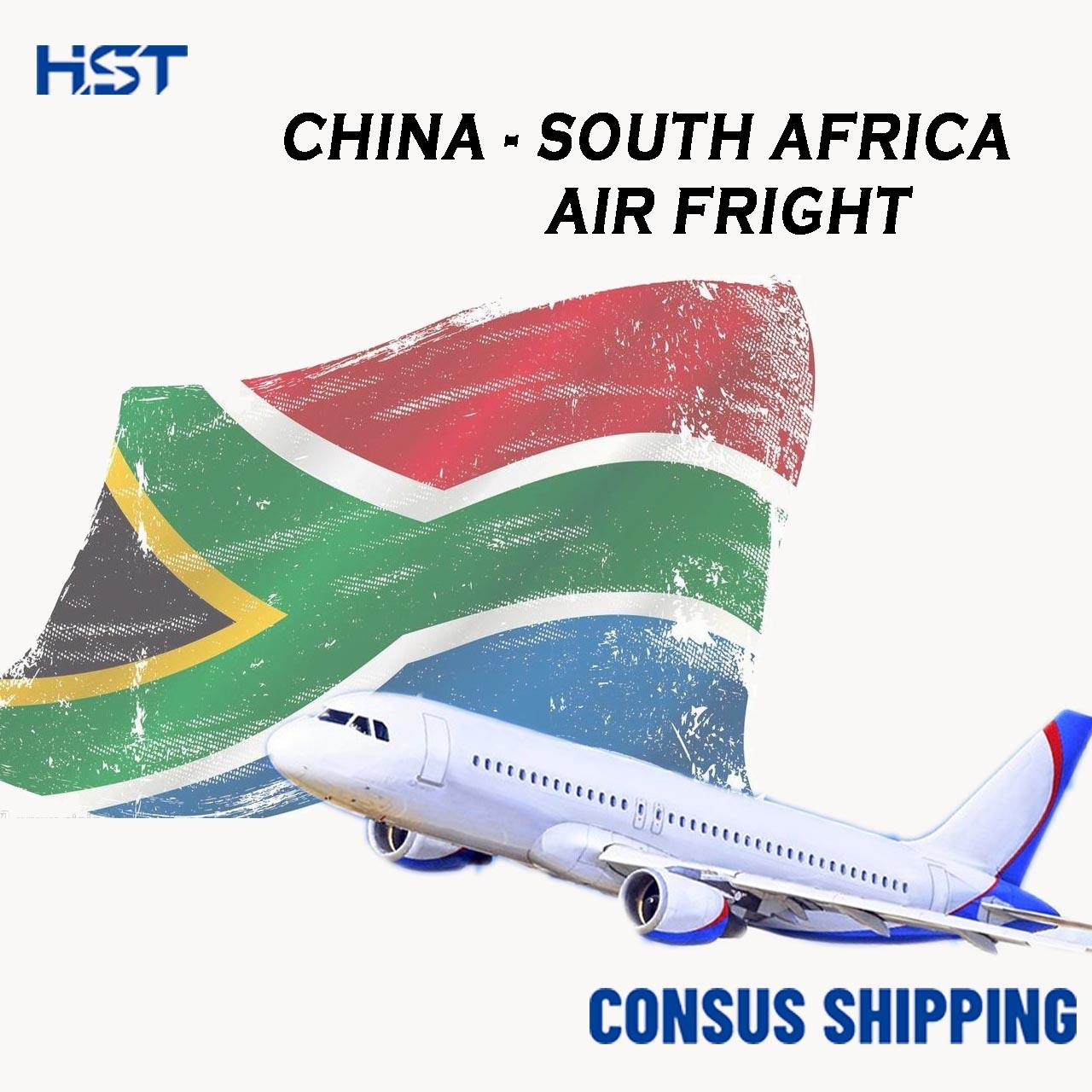 Reliable Yiwu Shanghai Air Freight From China To South Africa Shipping Agent Port CPT Forwarder