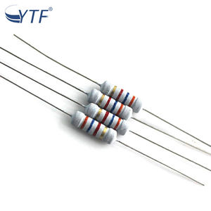 3K Ohm 0.5W 1//2 vatios a través de orificios de carbono película resistencia fija ± 5/%