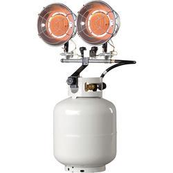 ZOBO 30000BTU Anti-tip Device 8.7KW Gas Propane Tank Top Heater