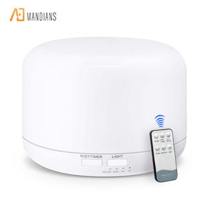 Remote control 300ml ultrasonic Cool Mist Aroma Diffuser with changing colored led lights Aromatherapy Humidifier