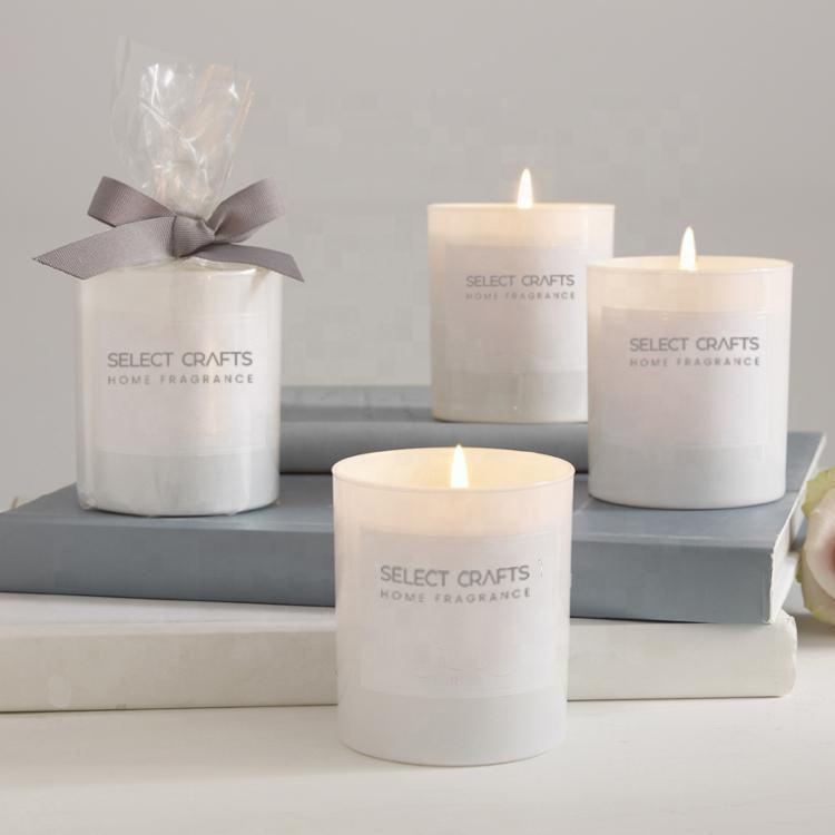 Wholesale Decorative Custom Personalized Packing Glass Candles Scented Luxury