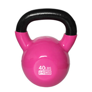 wholesale fitness gym colorful steel competition kettlebell unisex use