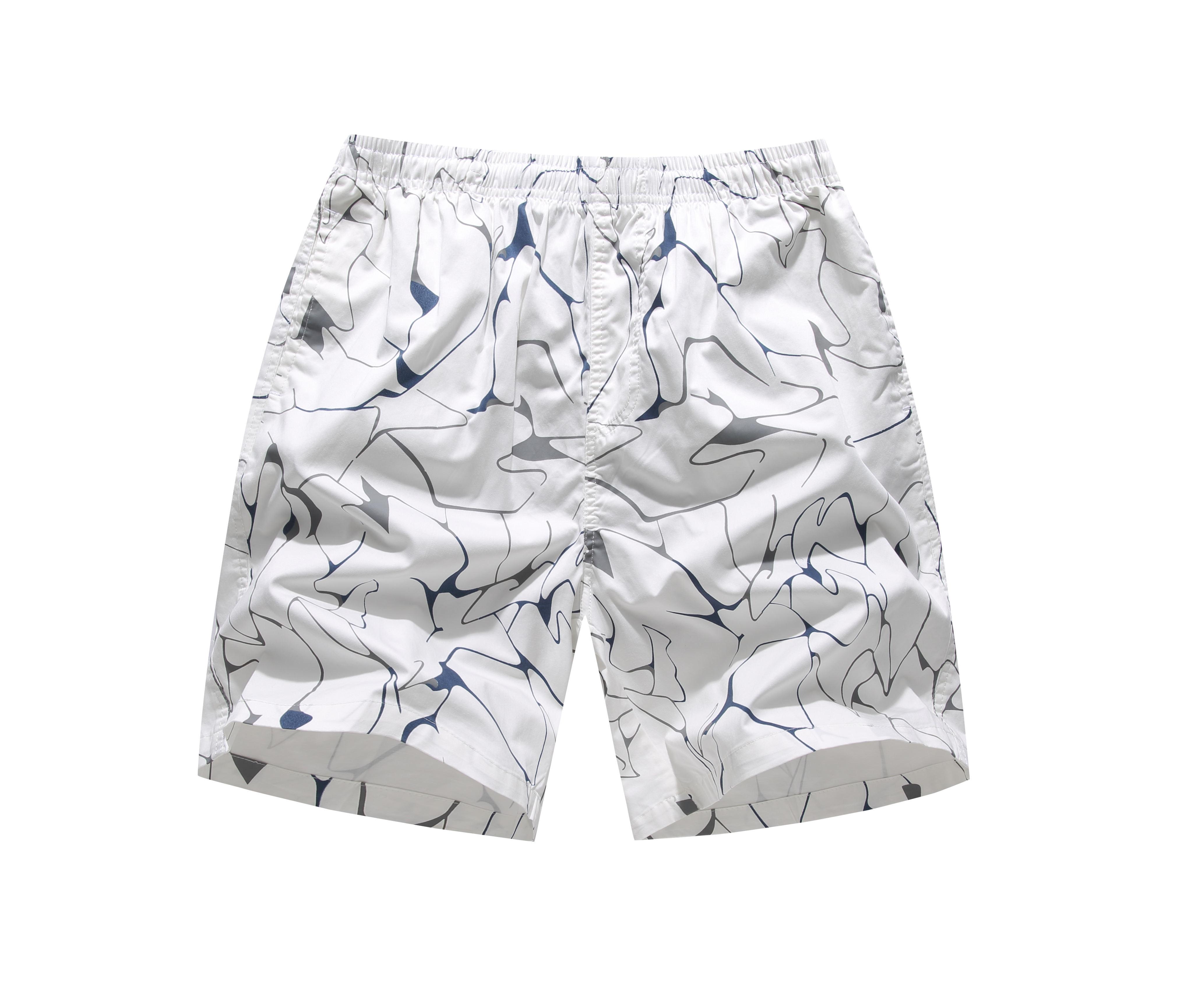 Boardshort Mermaid Blue Fish Scales Boys Teen Quick Dry Sports Trunks