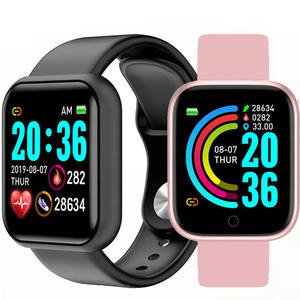 Bluetooth Smart Watches Men Waterproof Sport Fitness Tracker Smart Bracelet Blood Pressure Heart Rate Monitor Y68 Smartwatch