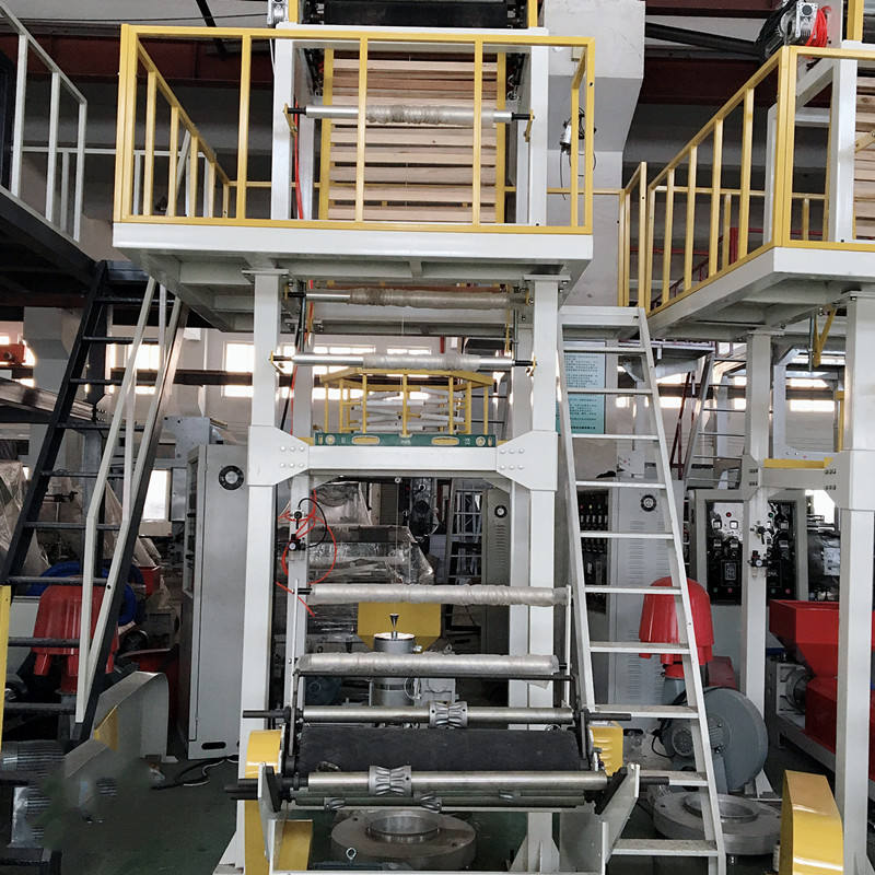 Hot sale 100% Biodegradable HDPE LDPE LLDPE plastic bag extrusion machine