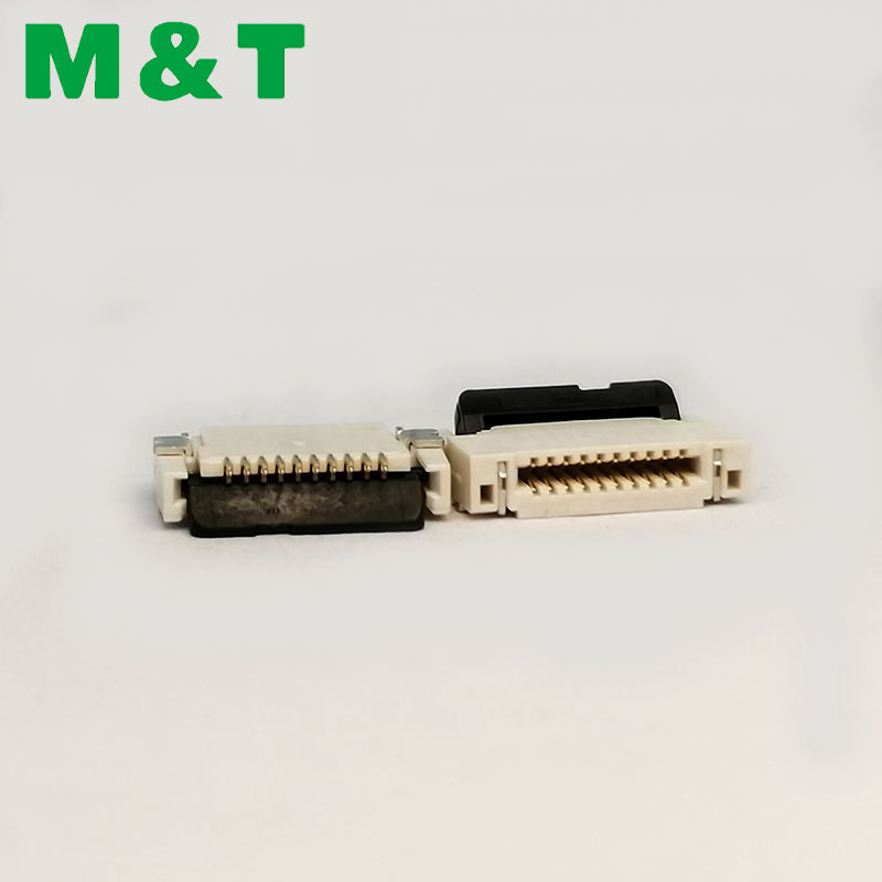 Emas/Timah/Nikel Plating <span class=keywords><strong>Tinggi</strong></span> 1.0Mm 1.5Mm 2.0Mm 2.5Mm FPC FFC Connector LCD tampilan