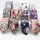 Cotton Flower Tie Men's Colourful Floral Ties Necktie Narrow Paisley Slim Skinny Cravate Narrow Thick Neckties