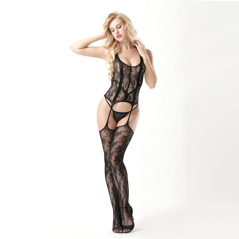 Transparent Bodystockings Fashion Teddy Babydoll Mature Ladies Sexy Underwear Lingerie