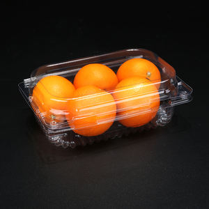 Wholesale disposable custom plastic egg tray packaging box with cover