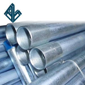 G.I. pipe railings galvanized tubes for green house galvanized steel pipes and tubes