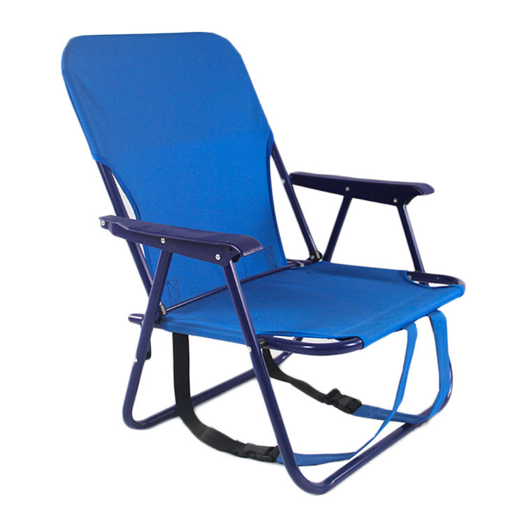 Custom manufacturer easy carry adjustable tommy bahama beach chair metal portable chair