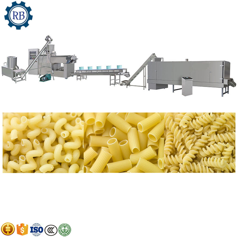 Eenvoudige Bediening Factory Direct Supply Industriële <span class=keywords><strong>Macaroni</strong></span>/italiaanse Pasta making machine/plant