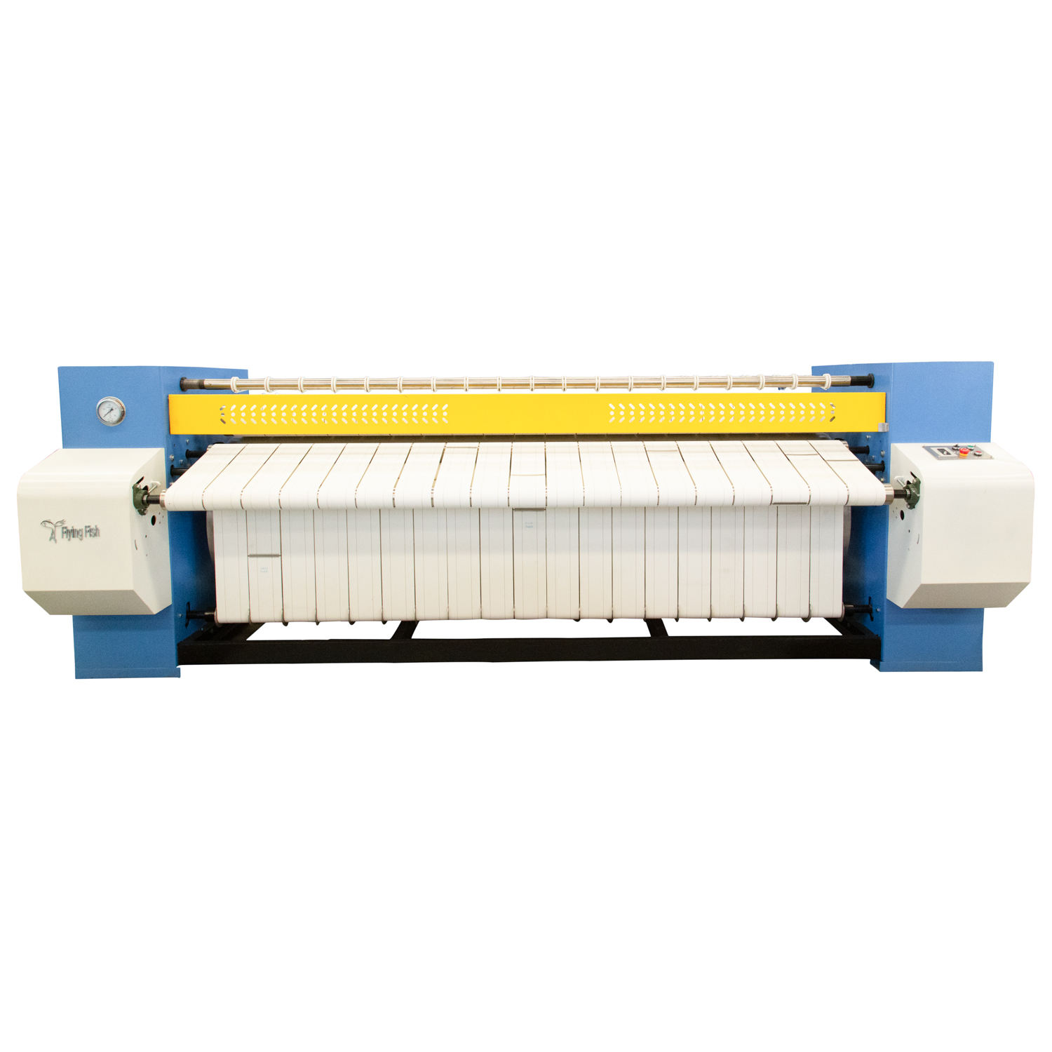 Laundry flatwork ironer, sheets/quilts/tablecloth ironing machine