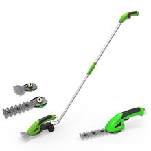 GT01 8V Cordless Grass Shear &Hedge Trimmer With Battery and Charge