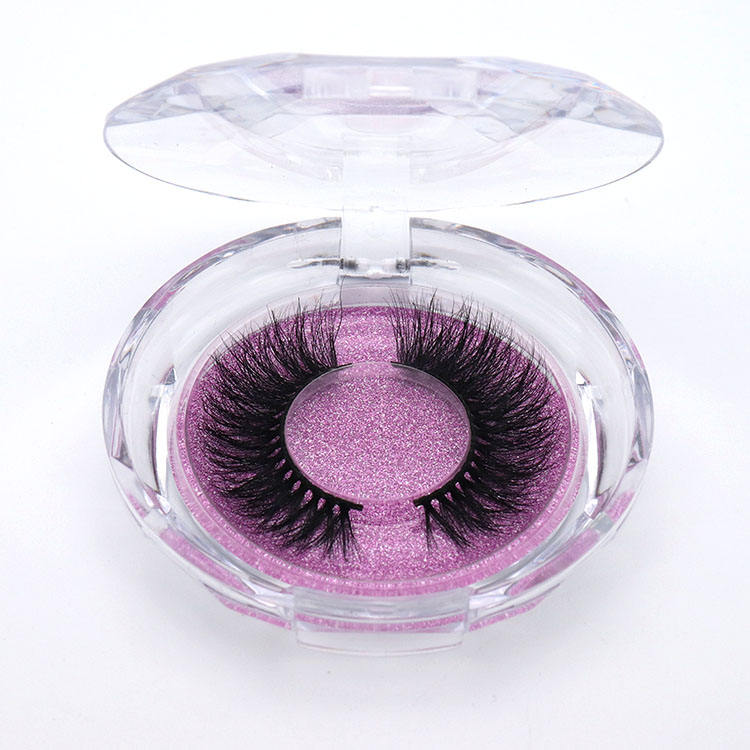 Custom Private Label Round lashes cases False Eyelash Box Packaging Circle eyelash Case