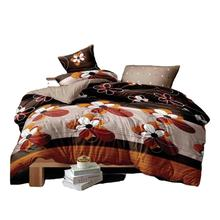 High Quality Comfortable 4Pcs Bed Sheet Bedding Set for Hotel Customized Textiles