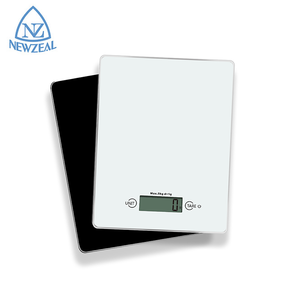 2020 Black Glass Food Weight Scale 1G 5Kg Digital Electronic Kitchen Scale Price