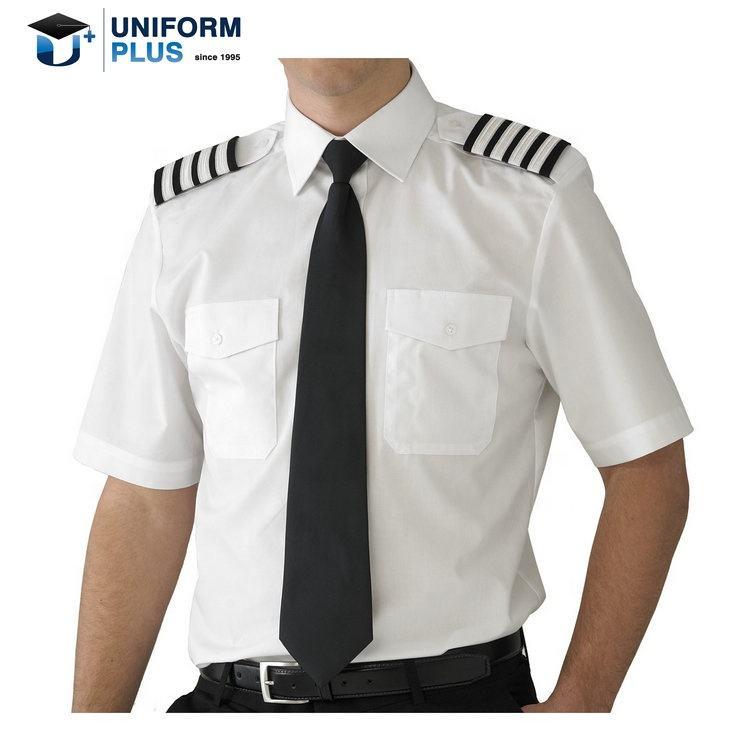 Camisa de piloto de Manga Larga Modelo Pilot Hombre Caballero Kuston Kit