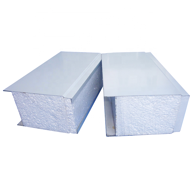 Fire Retardant Insulation EPS Sandwich Panel 50mm/75mm/100mm/150mm/200mm Polystyrene EPS Wall/Roof Panel