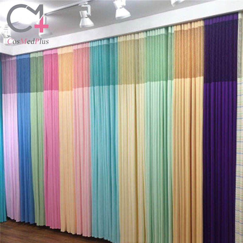 Strength manufacturers wholesale bed sheets and curtains partition curtains breathable light blocking curtains medical