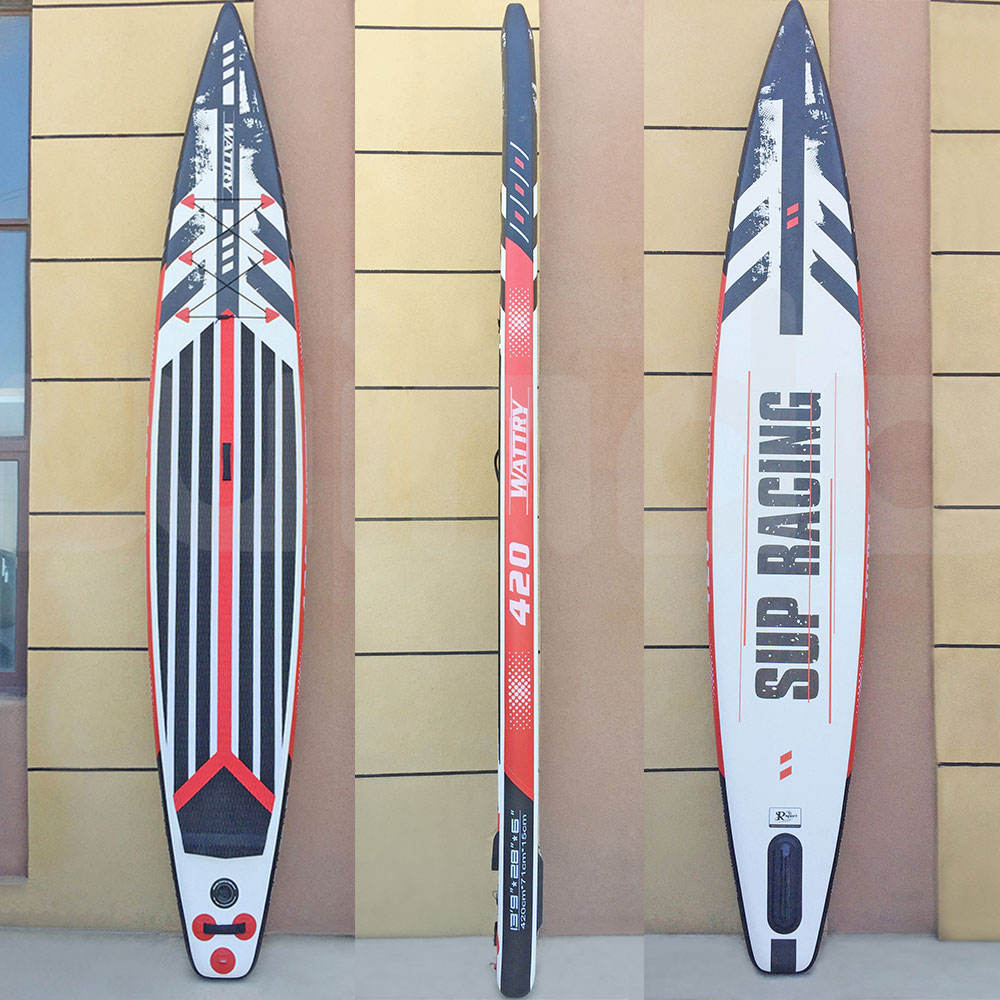 13'9''x28''x6' Touring Double Layer Drop-Stitch Fabric Factory Custom Water Surfboard Inflatable surf Paddle Board Race SUP