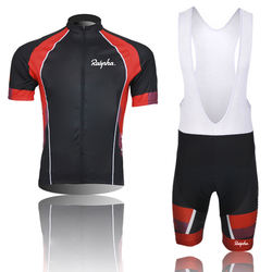 Men summer short sleeve Team jersey cycling men  Bicycle clothing set breathable and comfortable bike riding jacket