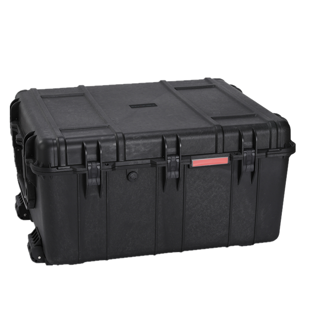 Waterproof Plastic Tool Case Large Capacity Storage Hard-shell Carrying Case with Wheels
