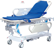 High Quality Plastic Emergency Hospital Ambulance Stretcher for Sales