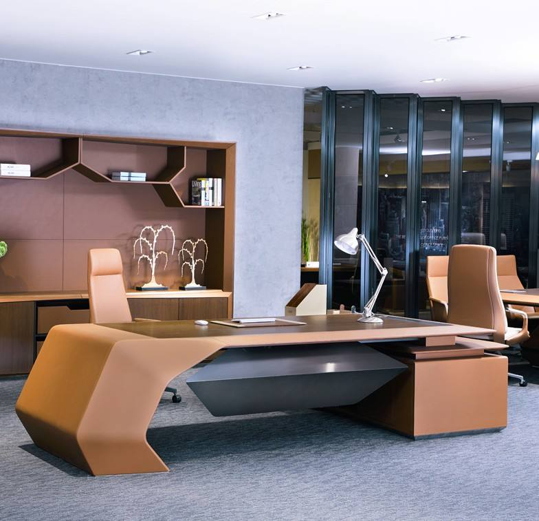 luxury office executive desk modern office manager desk