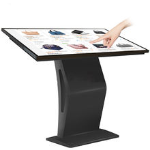 32 43 inch touch screen info totem lcd interactive display panel for touch screen kiosk