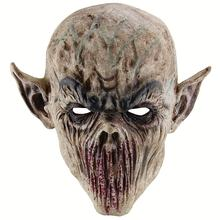 Scary Bloody Alien Demon mask Evil Zombie Monster Costume Latex Head Mask Creepy Horrific Halloween scary Masquerade Party Props