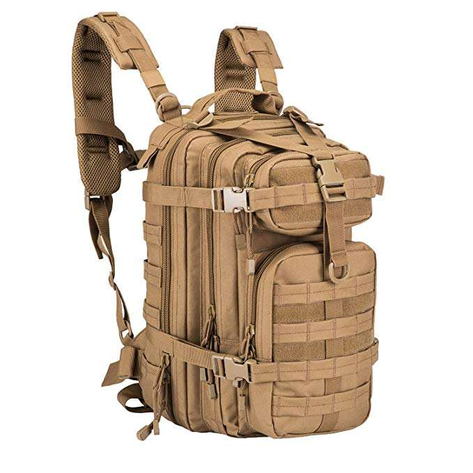 BSCI factory hunting trekking military hiking army camouflage molle tactical 3P style backpack