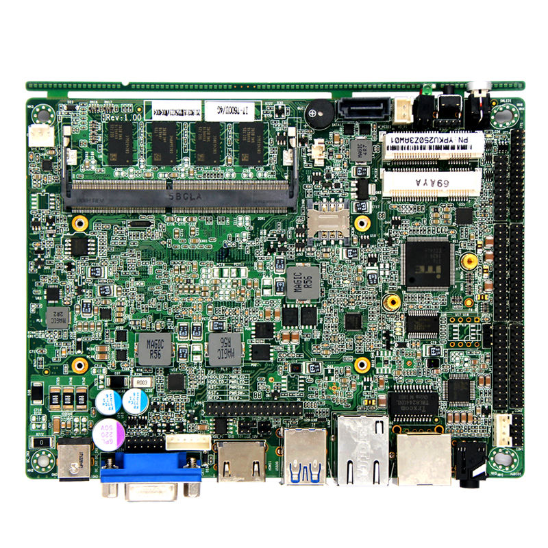 "Ddr4 Motherboard Server Desktop 3.5 ""industrial Motherboard 7 Th Kaby Lake-U Soc I3/i5/i7 Processor DDR4 RAM Power 8-36V"