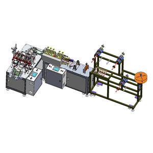 Fully Automatic Mask Welding Machine Face Mask Making Machine Mask Machine