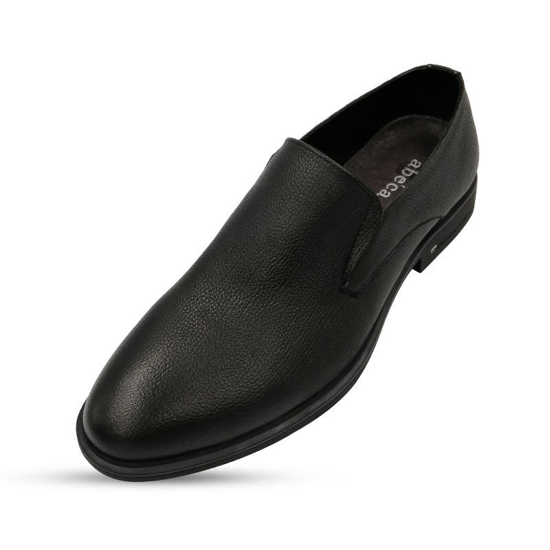 Wedding Party Dress Driving Loafer Casual Rubber Slip-on Office Genuine Leather Formal Shoes Men
