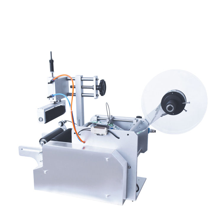 KA PACKING Semi-Automatic Round Bottle Label Applicator/Sanitizer Hand Wash Gel Labeling Machine